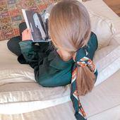 N'oubliez pas de prendre du temps pour vous 🤍 _________  #bandalia #foulard #inspiration #scarf #love #bandeau #carréensoie #foulardànouer #tendance2021 #instadaily #accessoires #cheveux #coiffure #beachwear #chill